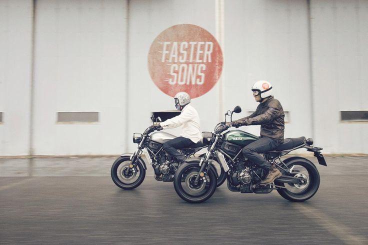 #XSR700, Yamaha'nın geçmişine saygı duyarak Yamaha'nın tasarımda en iyi yönlerini alırken aynı zamanda geleceğin motosikleti olma özelliğini taşır. #tasarim #yamahatürkiye #yamahamotor #sportheritage #fastersons
