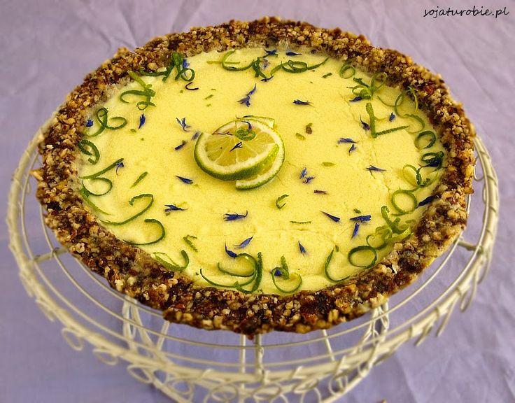 sojaturobie: Tarta limonkowa bez pieczenia