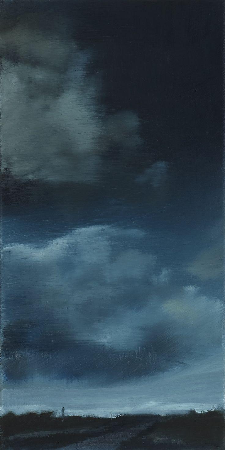 Stroude, Emma - 'Nimbus' Oil 31cm x 15cm 2016