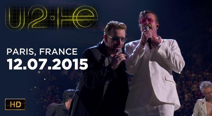 U2 Paris, France 2015.12.07 HD 1080p - full show (pro-shot) - U2IE