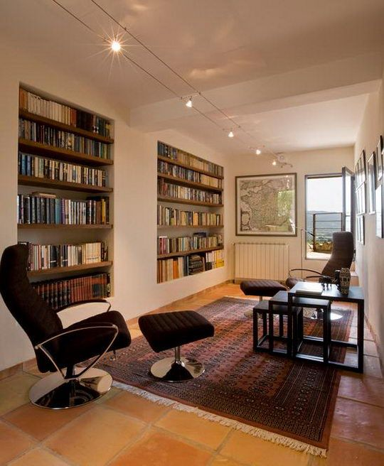 Best 25+ Cozy Home Library Ideas On Pinterest