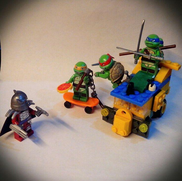 Test build of cartoon series turtle van. Turrrrtleee pawwwaaahhhh!!!