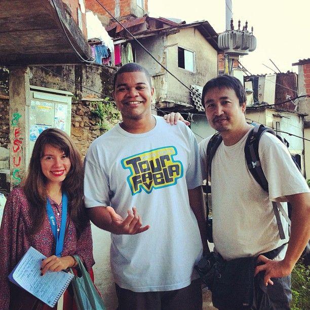 Favela Santa Marta Tour: Matérias e Entrevistas (Clipping)