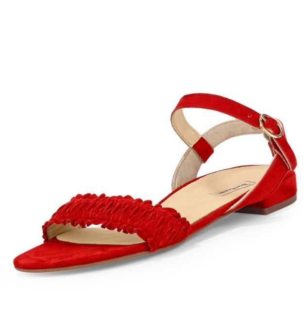 Paul Green Sandale in Farbe rot um 50% reduziert online