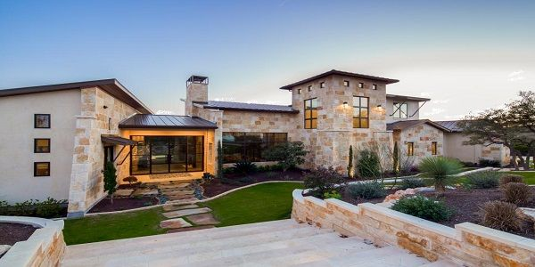 Small House Exterior Design with Gorgeous Stone Exterior