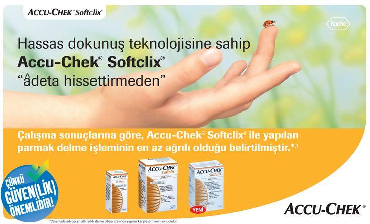 AD for Roche, Accu Check Softclick