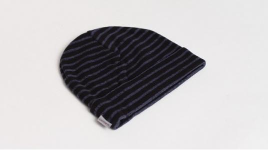 Bonnet Virgil - Noir / Bleu
