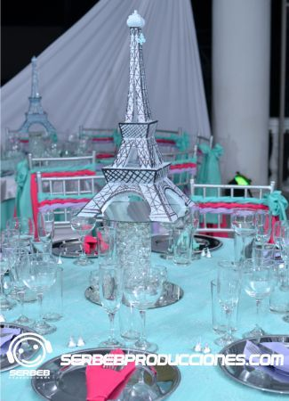 Paris fiestas and quinceanera on pinterest - Decoraciones de bares ...
