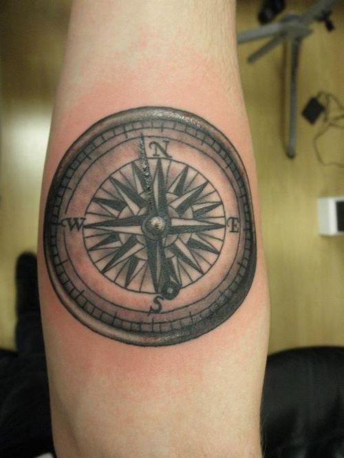 Tatouage de de compass ties the compass couple tattoo of of jared s