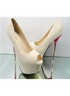 cheap gold prom shoes
