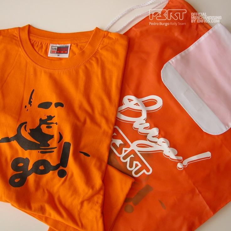 Pack Mochila/camiseta PBRT  Camiseta 100% algodón, con el color clásico de color que define al equipo, el naranja.  Este es un pack exclusivo,con un precio super especial, accesible a todo el mundo.