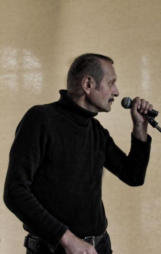 Vladimnír Hirsch (Skrol) in Dresden, Germany, 2012