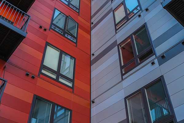 Fiber Cement Cladding,Architectural Wall Panel,Rainscreen,Color,Texture,Exterior