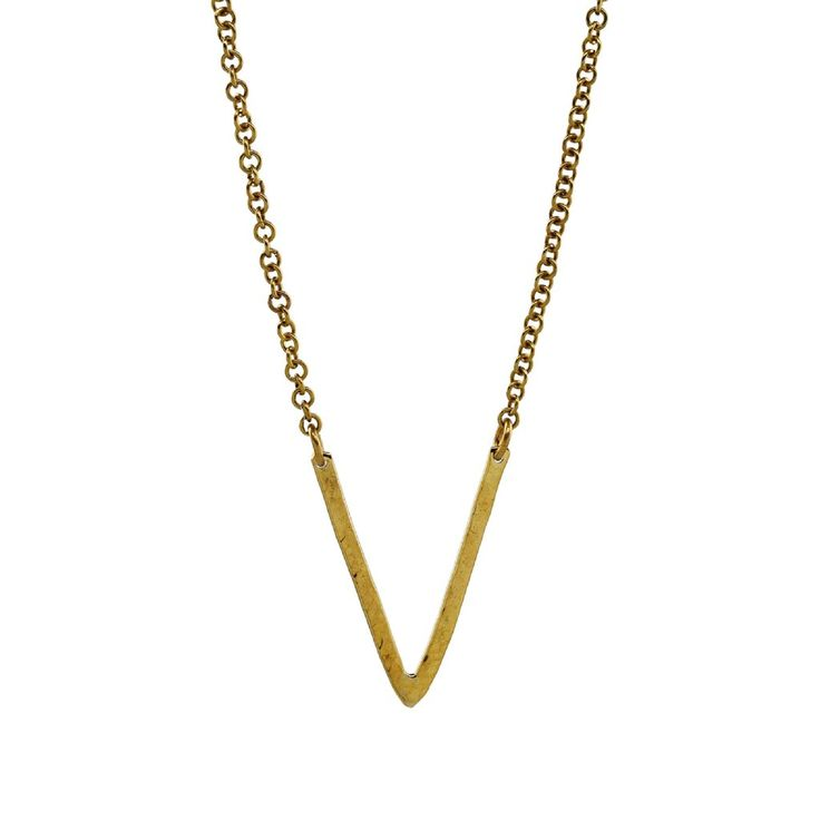 "Equator Brass Necklace, 20% off with code ""CAUSEBOX"""
