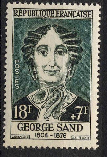 Amantine Lucile Aurore Dupin (1804 – 1876), best known by her pseudonym George Sand, was a French novelist and memoirist. She is also equally well-known for her much publicized romantic affairs with a number of celebrities including Frédéric Chopin and Alfred de Musset. rnb**