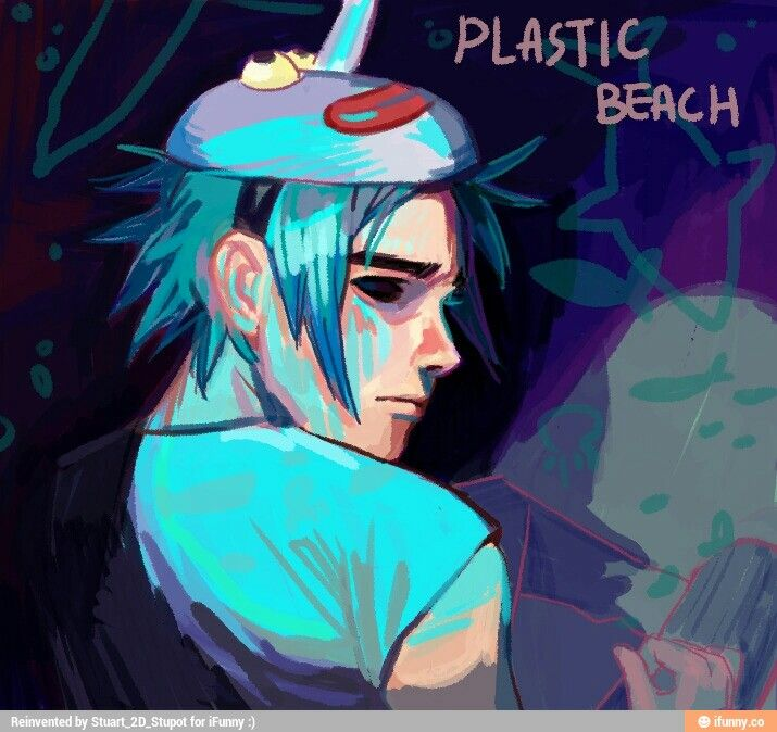 I love this picture soooo much. BY FAR MY FAVORITE PICTURE OF 2D..