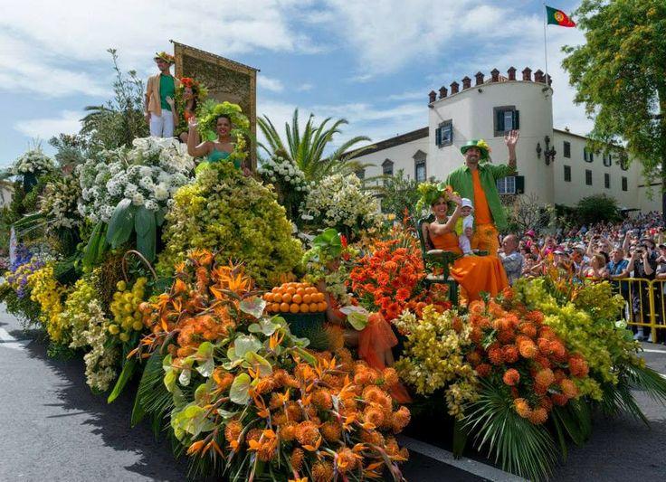Madeira Island News, Festa da Flor, Flower Festival, Funchal, Madeira Island, Portugal