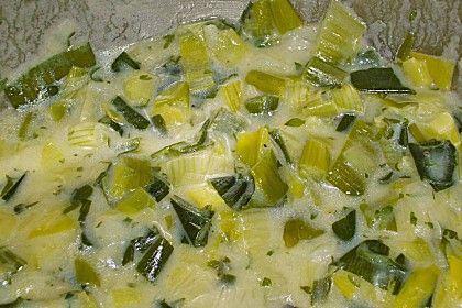 Porree-Gemüse.