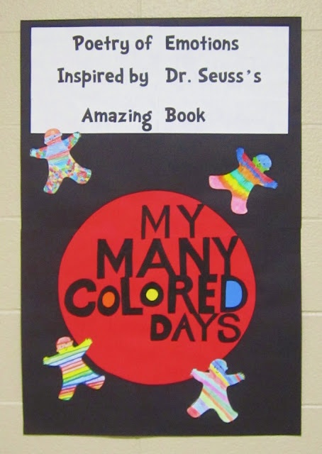 This is a great activity for older elementary aged students. It incorporates colors, emotions, and poetry all in one lesson. Plus it comes with a great activity to reinforce the ideas!