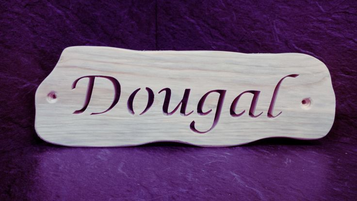 Solid Wood rustic style Fret Cut Horse Stable name plaque in Lucinda font. Any name on these plaques. by BeanandFlaps on Etsy