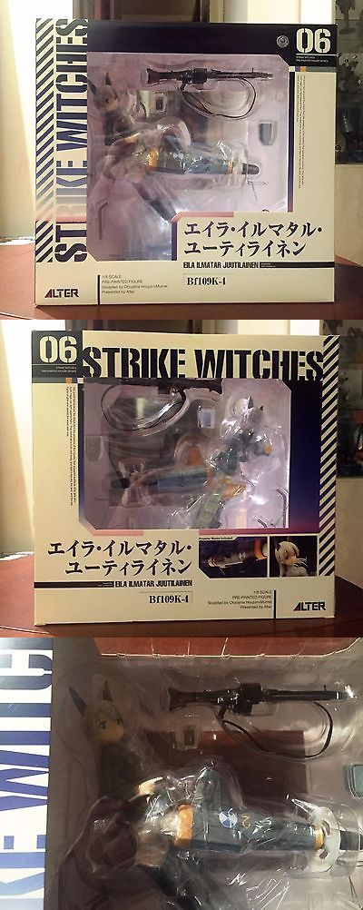 collectibles: New Alter Strike Witches - Eila Ilmatar Juutilainen - 1/8 Pvc Figure -> BUY IT NOW ONLY: $99.99 on eBay!