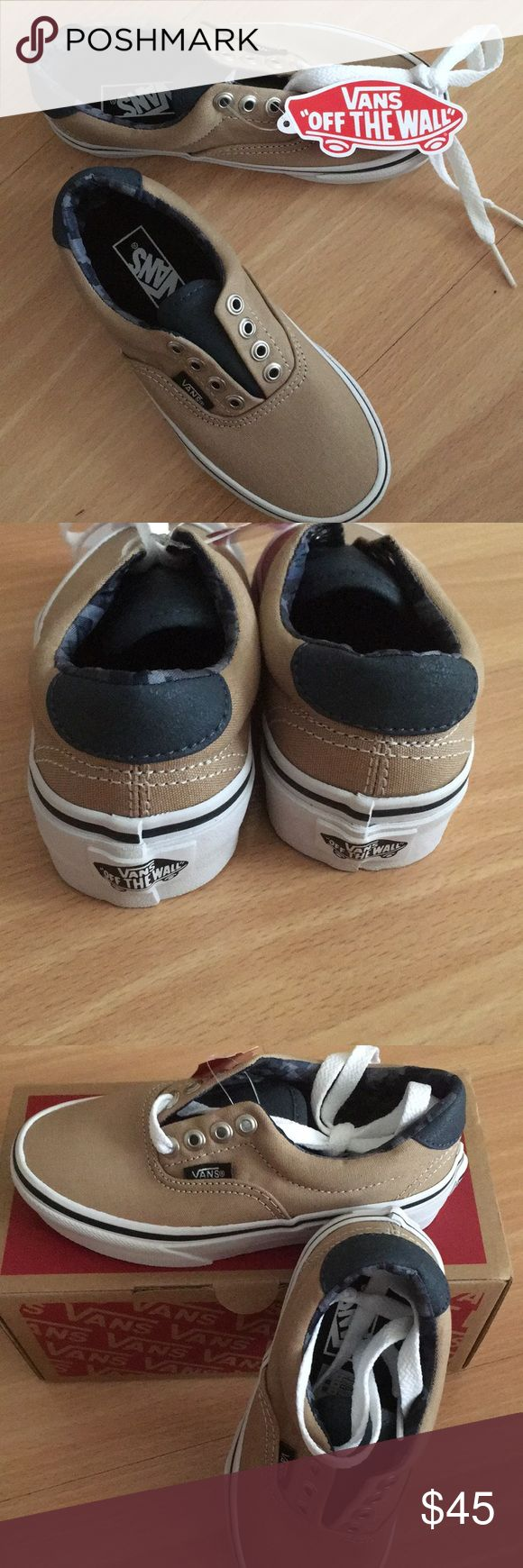 Brand new, never been used! Stylish boys vans shoes. Vans Shoes Sneakers