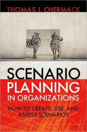 Scenario Planning in Organizations (PRINT VERSION)  http://biblioteca.cepal.org/record=b1209165~S0*spi This book is the most comprehensive treatment to date of the scenario planning process. Unlike existing books it offers a thorough discussion of the evolution and theoretical foundations of scenario planning, examining its connections to learning theory, decision-making theory, mental model theory and more.