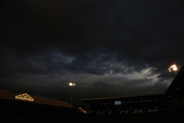 General view following the Sky Bet Championship match between Fulham and Preston North End at Craven Cottage on March 4, 2017 in London, United Kingdom.