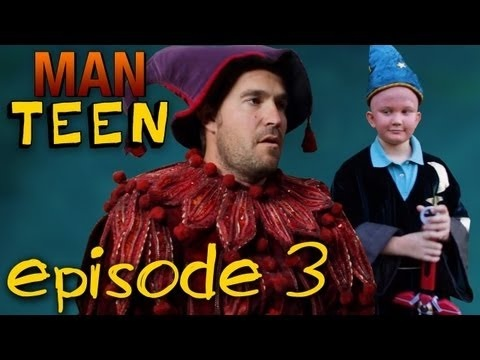 Check out episode three of Man Teen!