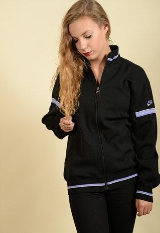 Black+&+Purple+NIKE+Sports+Jacket+(3032)
