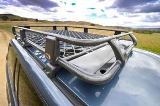 ARB 4x4 Accessories - ARB Alloy Roof Rack Basket with Mesh Floor - 4900040M | 4WheelParts.com