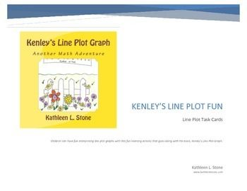 Children can have fun interpreting line plot graphs with this fun learning activity that goes along with the book, Kenley's Line Plot Graph (available on Amazon).