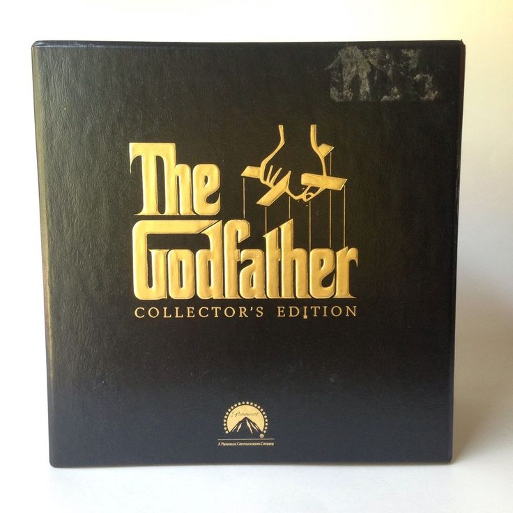 The Godfather Vhs Collectors Edition Directed By Francis Ford Coppola The Godfather Vhs The Collector