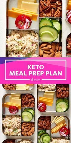 Keto Meal Prep in Under 2 Hours. If you're looking to start the keto di Fast Keto Meal Prep in Under 2 Hours. If you're looking to start the keto di. -Fast Keto Meal Prep in Under 2 Hours. If you're looking to start the keto di. Meal Prep Plans, Easy Meal Prep, Diet Meal Plans, Easy Meals, Healthy Dinners, Meal Prep For The Week Low Carb, Meal Prep Keto, Quick Keto Meals, Food Prep