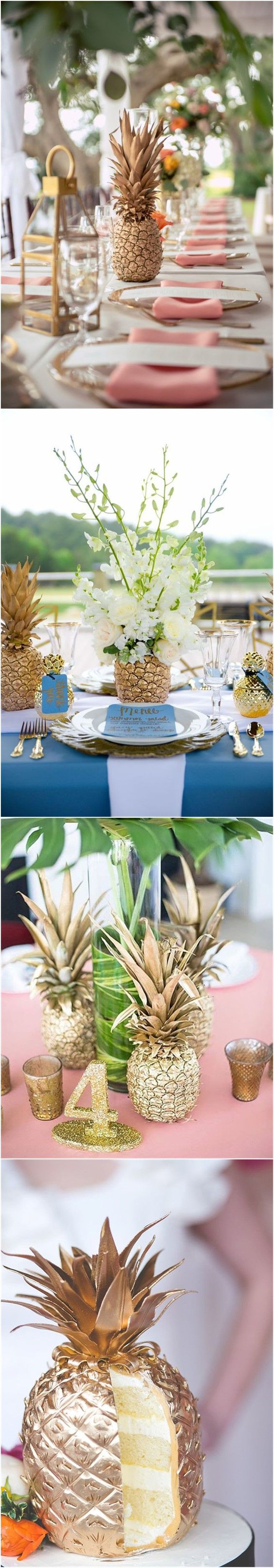 Wedding Ideas » 21 Inspirational Pineapple Wedding Ideas for Summer Wedding