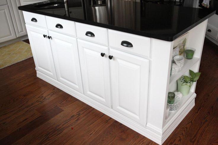 DIY Kitchen Island Makeover (and kitchen) via Bower Power!