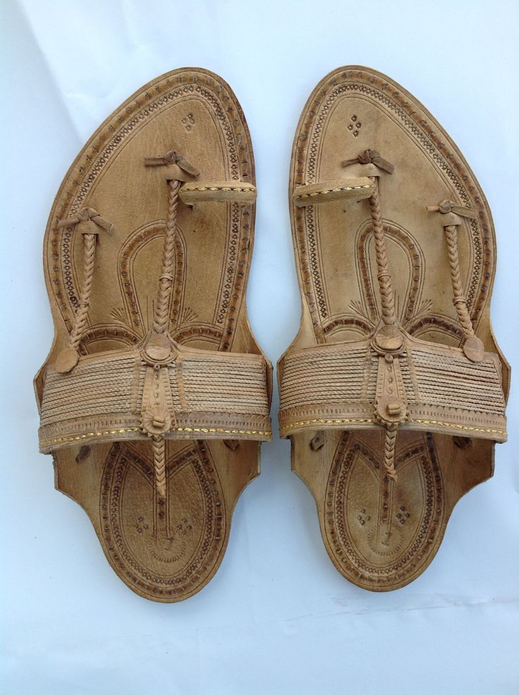 Handmade Leather Chappal for Men by kolhapurichappals on Etsy