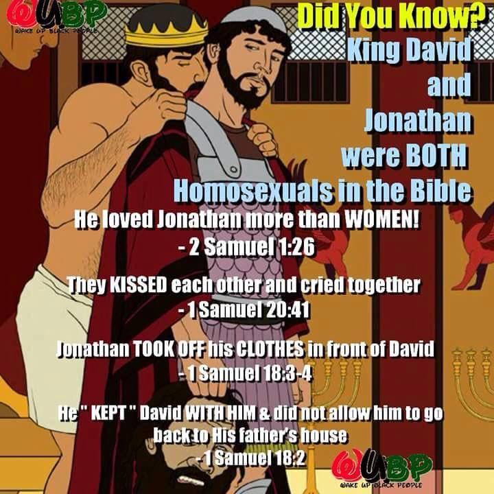 King David and Jonathan
