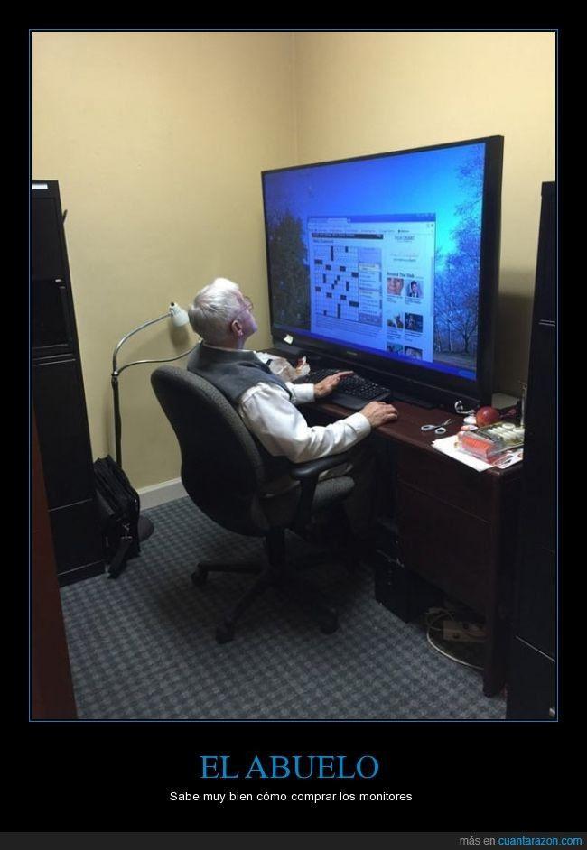 Nunca es tarde para unirse a la PC Master Race - Sabe muy bien cómo comprar los monitores Gracias a http://www.cuantarazon.com/ Si quieres leer la noticia completa visita: http://www.estoy-aburrido.com/nunca-es-tarde-para-unirse-a-la-pc-master-race-sabe-muy-bien-como-comprar-los-monitores/