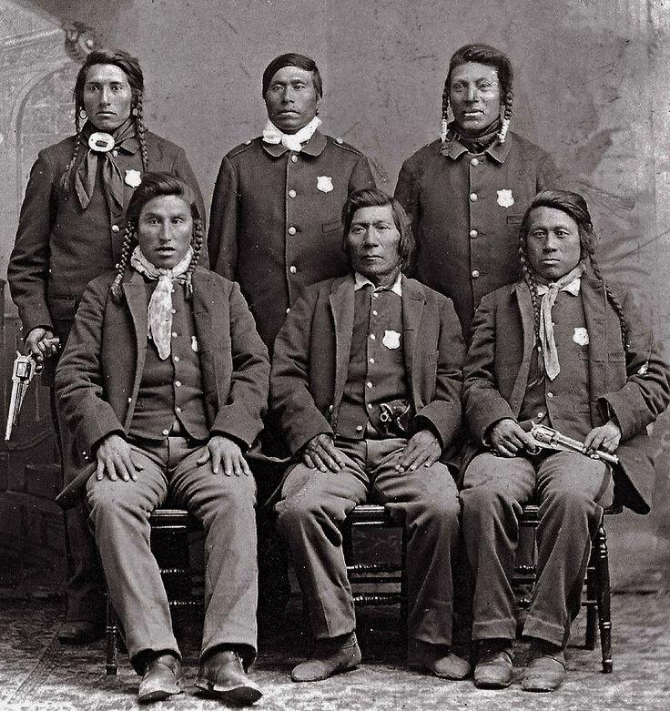 Shoshone Indian Police at Fort Hall Reservation
