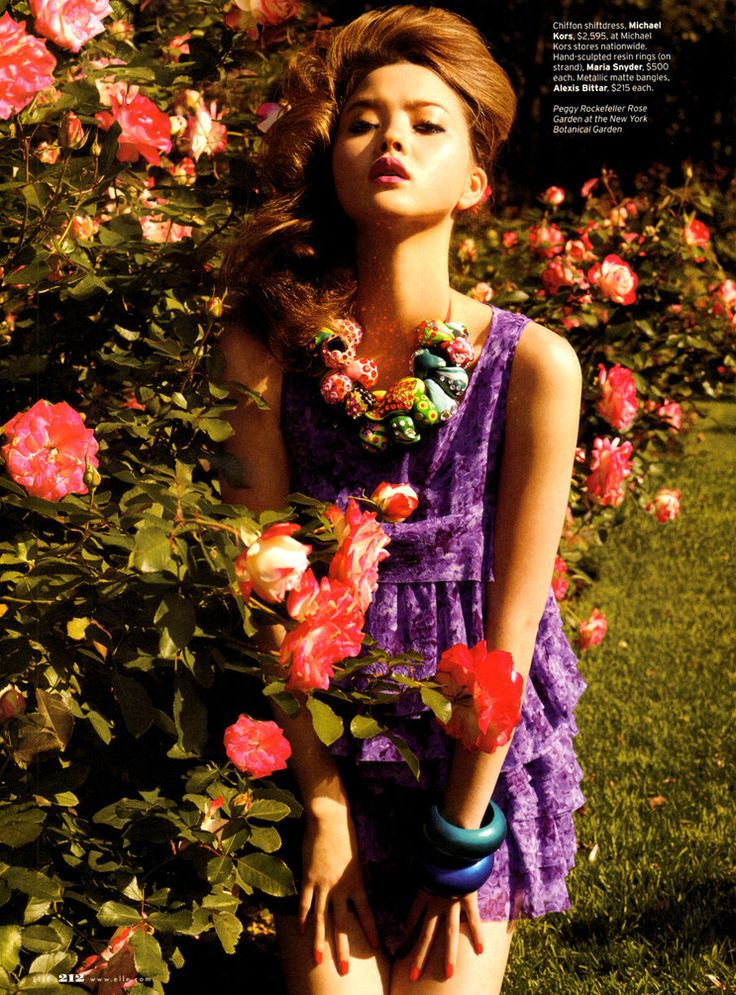 Devon Aoki by Carter Smith for Elle US February 2011
