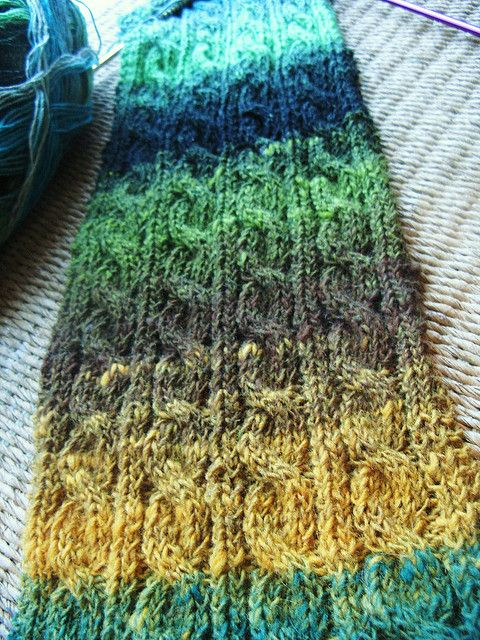 Knitting Irish Stitches : Irish hiking scarf Crochet/Knitting Pinterest Yarns, Patterns and Knits