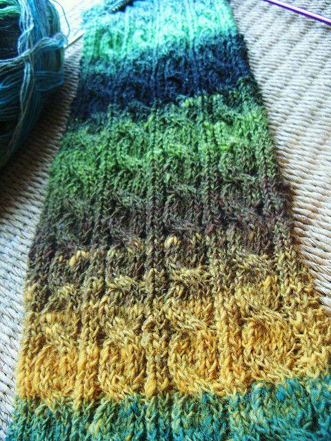 Knitting Irish Stitches : Irish hiking scarf Crochet/Knitting Pinterest Yarns, Patterns and Knits