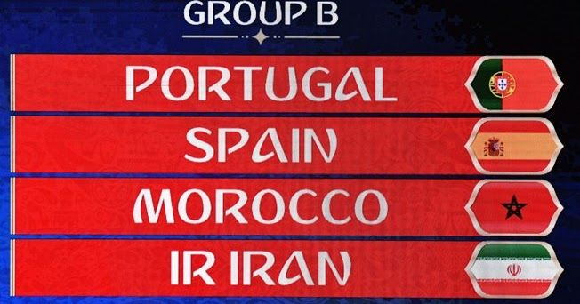 Check Out Confirmed Details About Group B Teams Schedule Predictions For The Fifa 2018 World Cup To Be Held In Russia From Fifa Team Schedule Fifa World Cup
