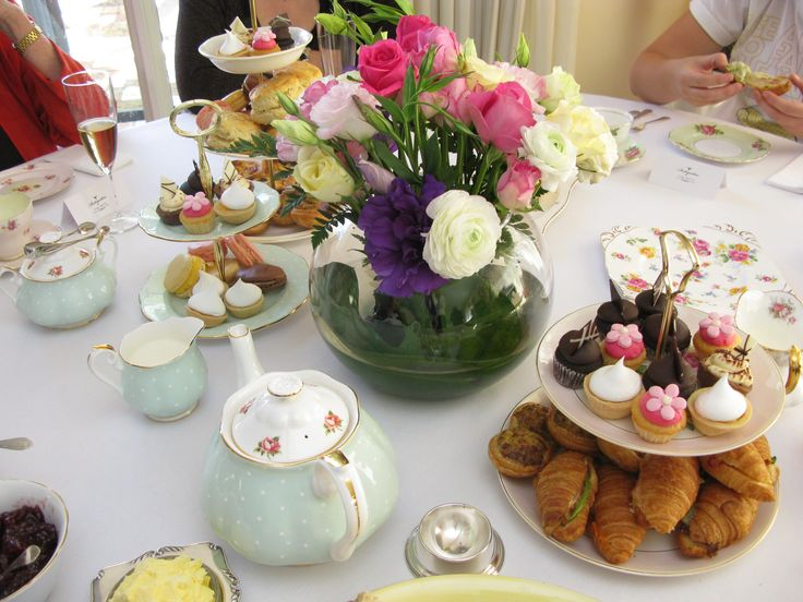 17 Best Ideas About Tea Table Settings On Pinterest