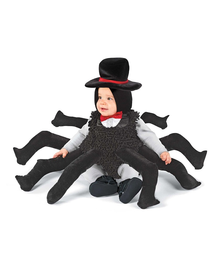 Black Spider Dress-Up Outfit - Infant & ToddlerHalloweencostumes, Toddlers Spiders, Step Ahead, Itsy Bitsy Spiders, Baby Halloween Costumes, Costumes Halloween, Kids, Spiders Costumes, Costumes Ideas