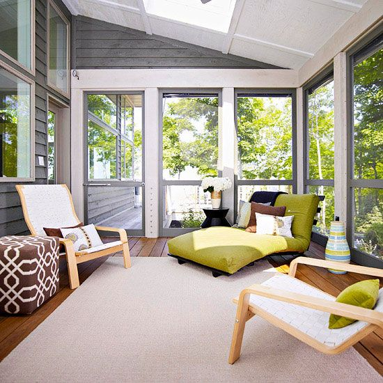 Enclosed Porch Decorating Ideas: 20 Best Elegantly Furnished Screened In Porch Images On