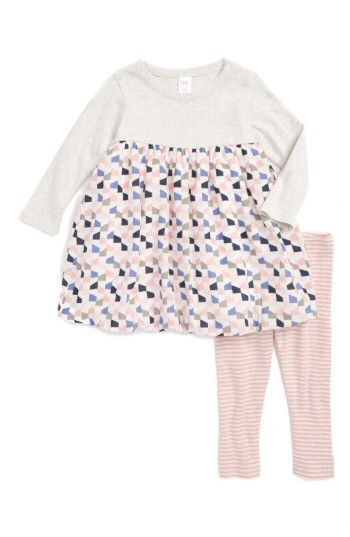 Nordstrom Baby Nordstrom Baby Dress & Leggings Set (Baby Girls) available at #Nordstrom