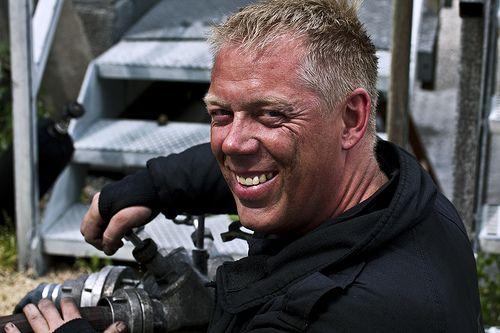 Foto eines Mitarbeiters vom RESC - Rettungs- & Sicherheitscenter.