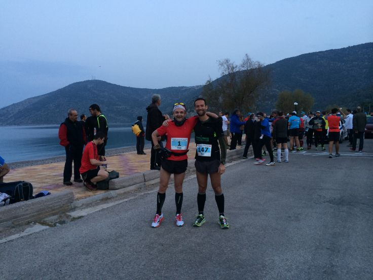 #PSatha  #Greece #Minoan #Runner  Meeting up with old friends. Pre-Race socialising.
